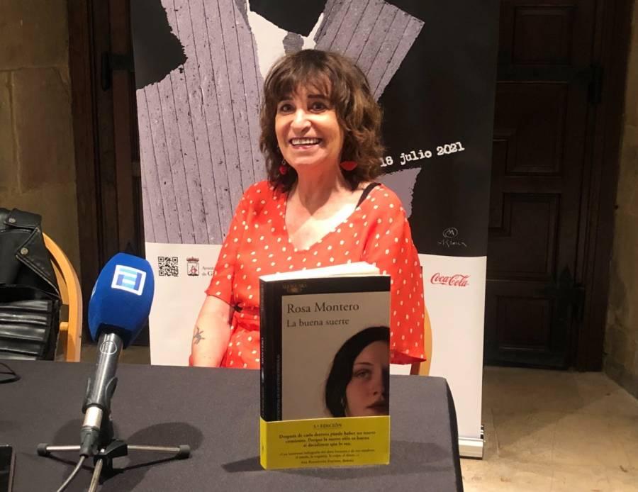 """Rosa Montero vuelve a Gijón con """"La buena suerte"""", su novela más luminosa"""