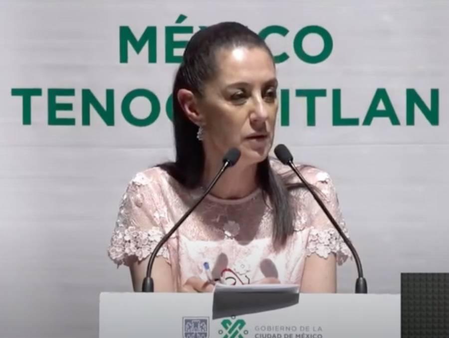 Sheinbaum dice respetar a Marcelo Ebrard, tras su destape presidencial