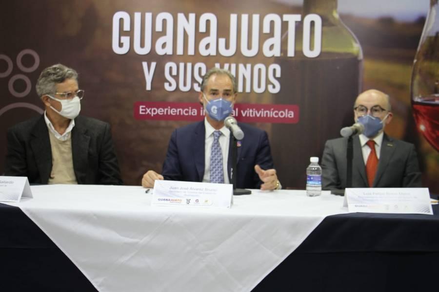 Guanajuato busca posicionar su vino con agremiados de la CANIRAC Nacional