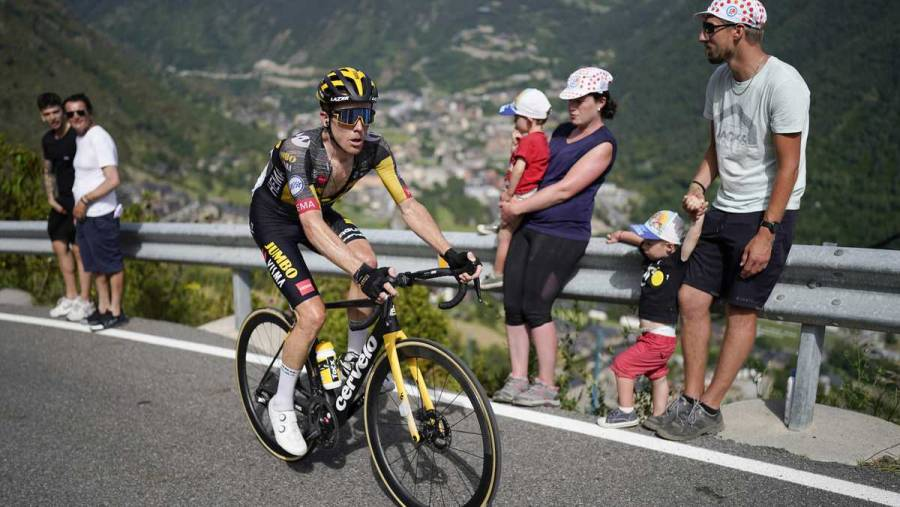 El ciclista Steven Kruijswijk abandonó el Tour de Francia