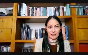 Sin discursos, se combate la violencia contra las mujeres: San Martín