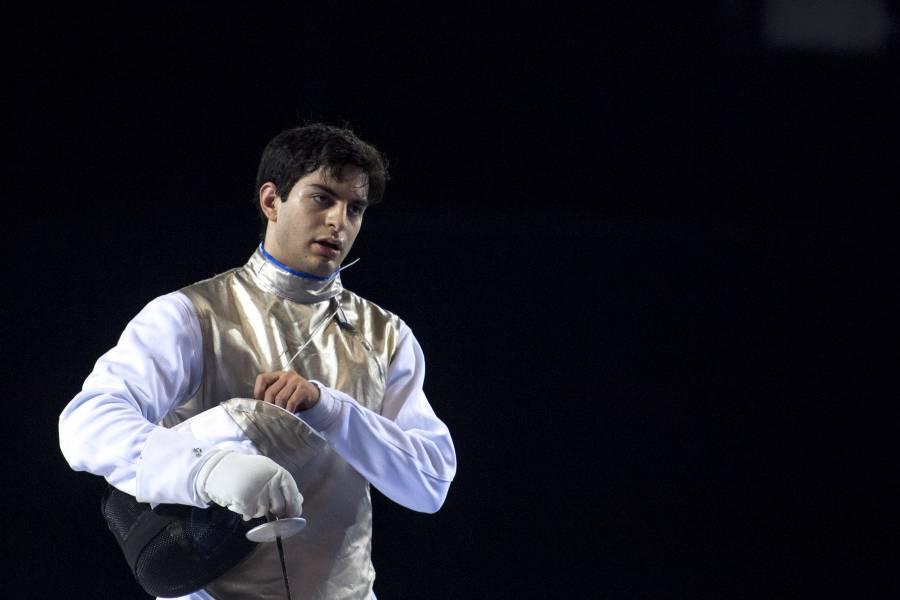 Diego Cervantes, el esgrimista que representará a México en Tokio 2020