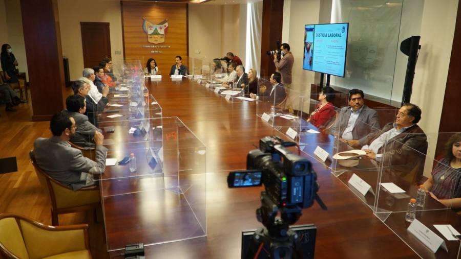 En octubre, Hidalgo completará el nuevo modelo laboral