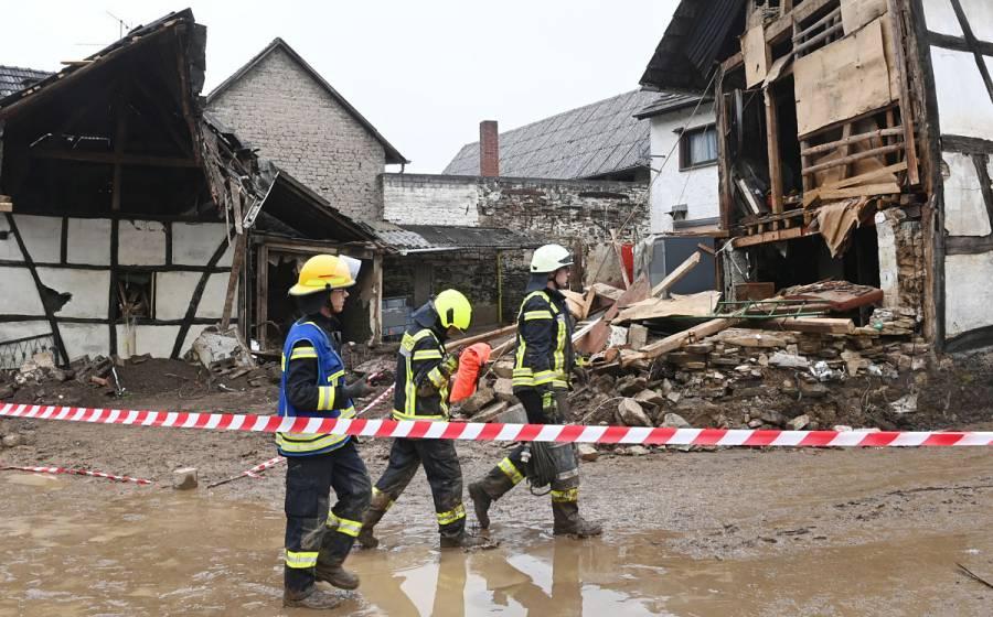 Al menos 133 muertos en Alemania y 153 en Europa por temporal