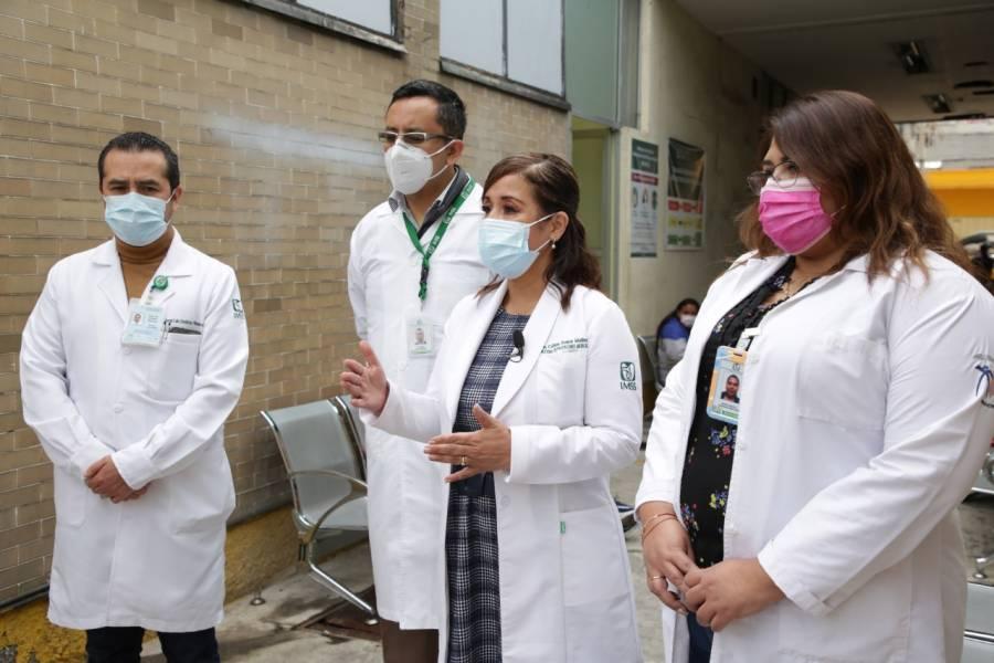 IMSS rastrea casos de Covid-19 a través de los Módulos de Atención Respiratoria