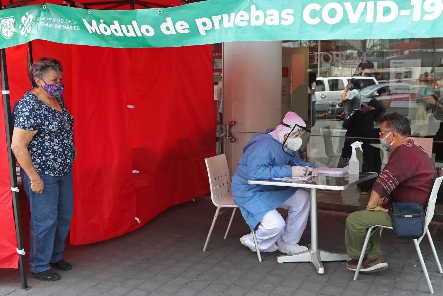 Regresan módulos Covid a plazas comerciales de la CDMX