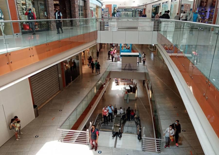 Regresan módulos Covid a plazas comerciales