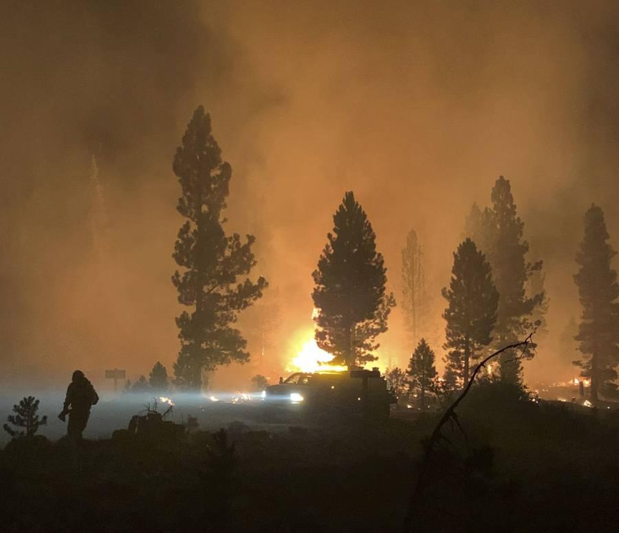 Arde el oeste de EEUU; Oregón y California los estados más afectados