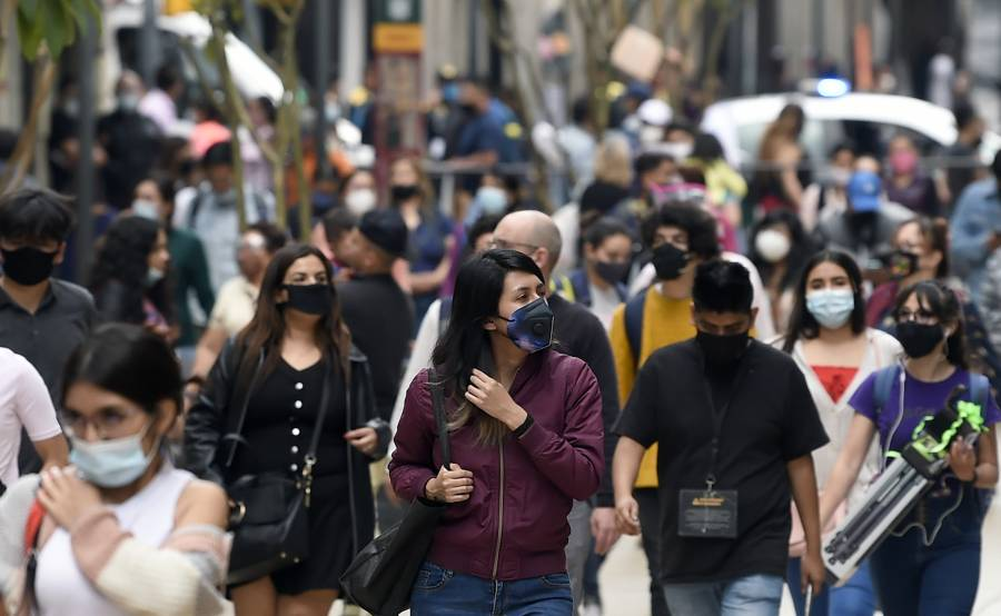 Registra México más de 5 mil nuevos contagios de Covid