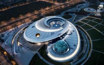 En China se encuentra el planetario más grande del mundo