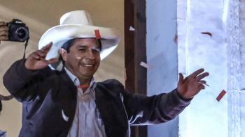 Proclama Jurado Electoral a Pedro Castillo como presidente de Perú