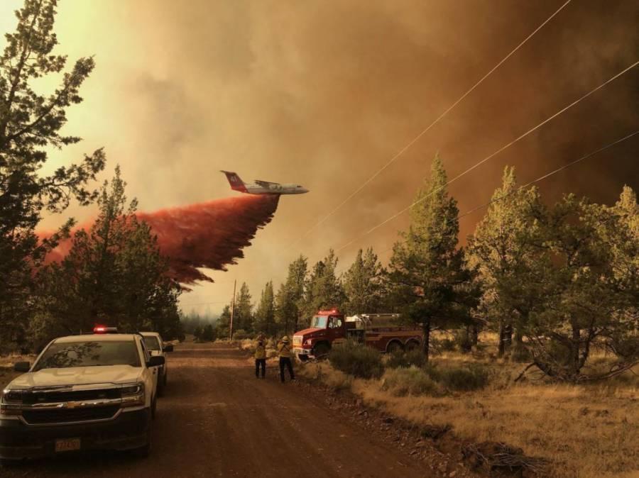Declaran emergencia en Canadá por incendios