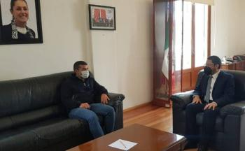 Batres se reúne con alcaldes electos de oposición