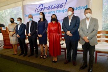 Giovani Gutiérrez promete que Coyoacán será facilitadora de inversiones