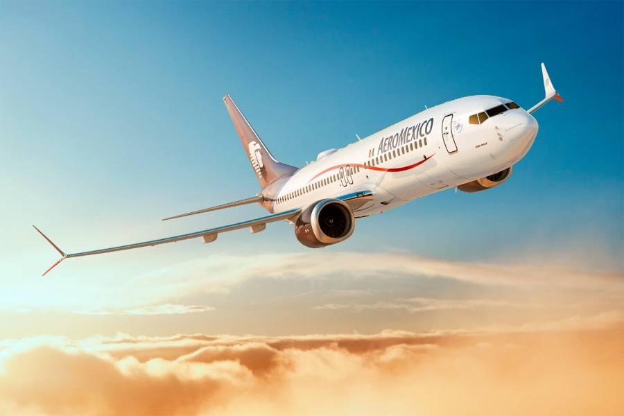 Aeroméxico anuncia incorporación de 12 aviones a su flota