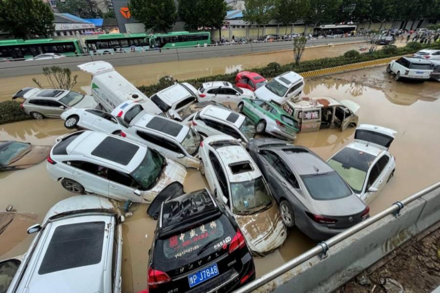 Lluvias torrenciales e inundaciones en China dejan al menos 25 muertos
