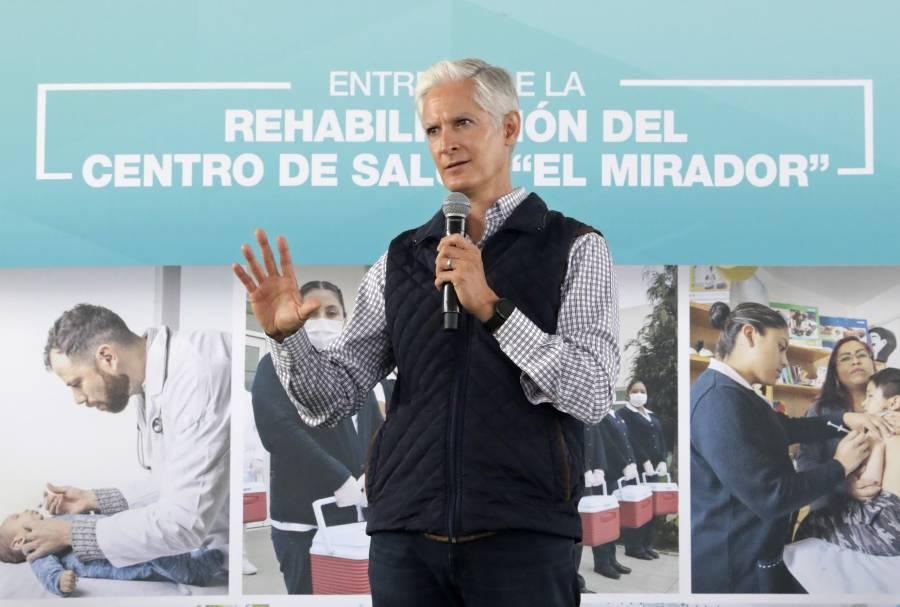 Alfredo del Mazo llama a mexiquenses a vacunarse para prevenir contagios de Covid