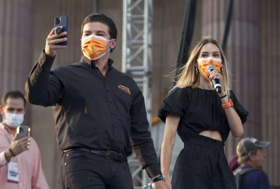 INE prevé multar a Samuel García con 55.6 mdp por publicaciones de Mariana Rodríguez en redes sociales