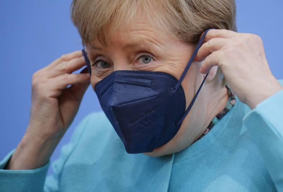 Angela Merkel, preocupada por la dinámica