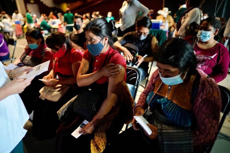 Avanza IMSS en vacunación antiCovid en Chiapas