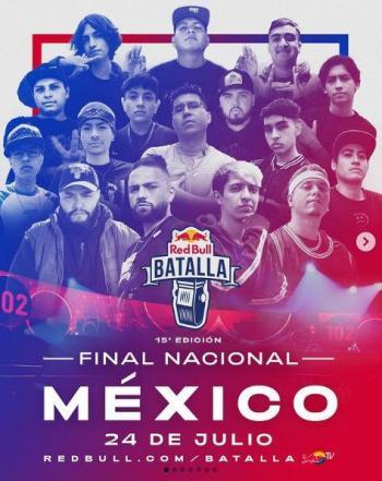 Detalles de la Final Nacional de Red Bull Batalla México 2021
