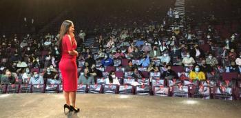 Sandra Cuevas presenta programa de renovación de mercados en los primeros 100 días de gobierno