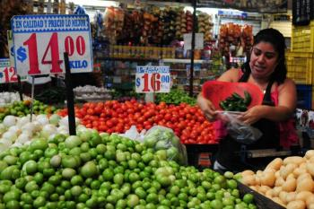 Inflación no cede; se ubica en 5.75% en primera quincena de julio