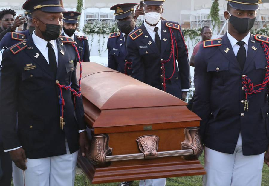 Haití se despide del asesinado presidente Jovenel Moise