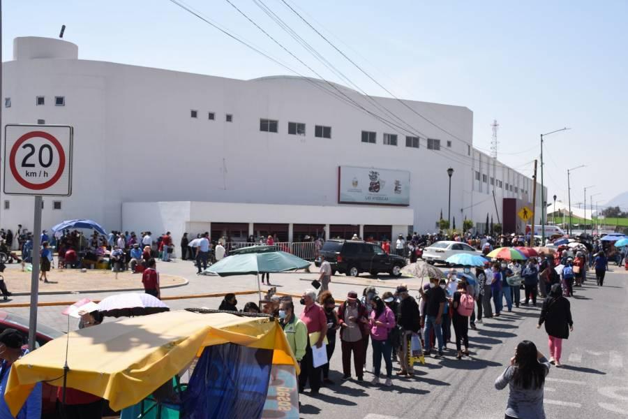Ecatepec en alerta máxima por Covid-19, como si estuviera en semáforo rojo