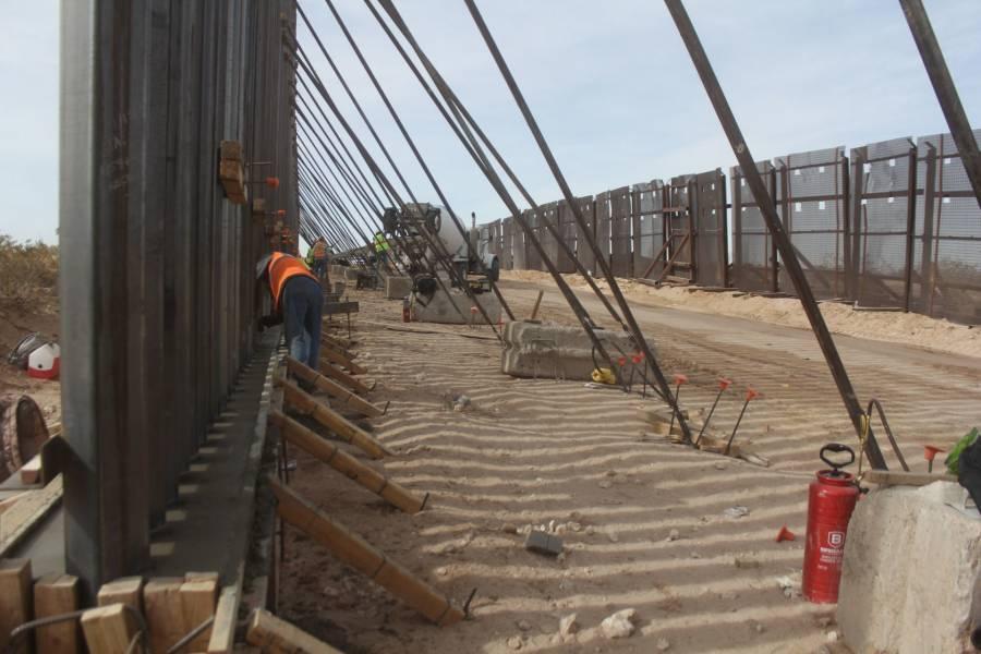 EEUU cancela contratos para construir el muro con México