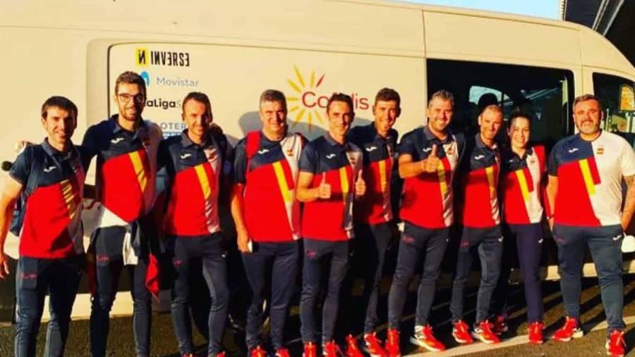 Masajista del equipo ciclista  español da positivo al Covid-19