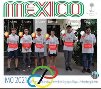 Mexicanos logran 2 platas y cuatro bronces en Olimpiada de Matemáticas