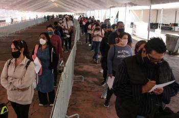 Para este domingo, anuncian cambio en sede de vacunación en Álvaro Obregón