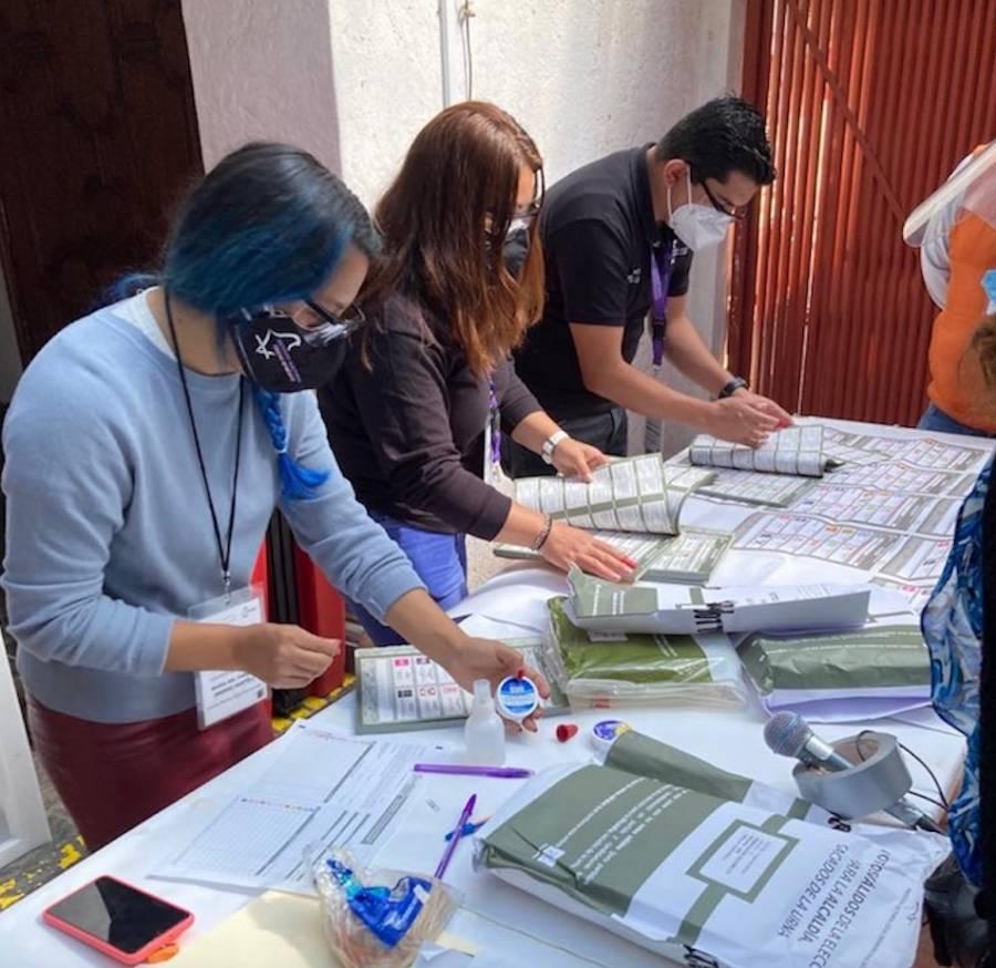 Comienza recuento de votos de la elección en la alcaldía Xochimilco