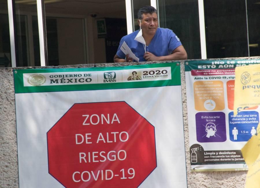 Reporta México 6 mil 535 nuevos contagios y 108 fallecidos por Covid