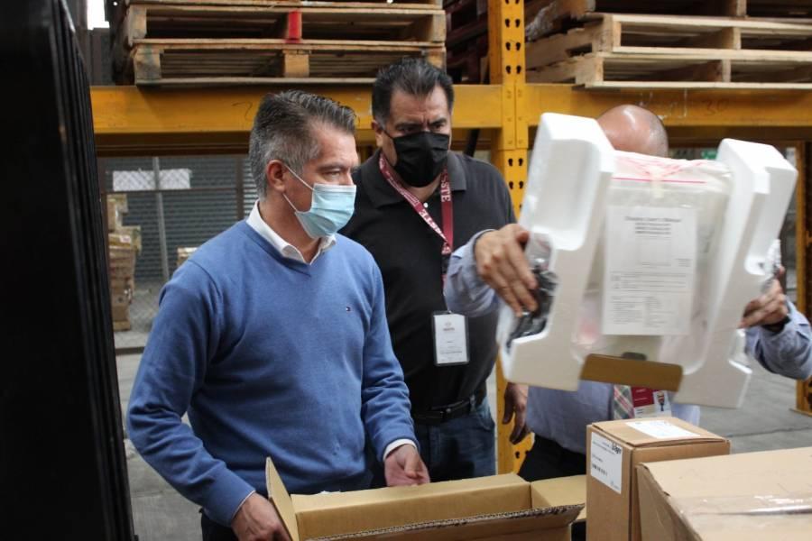 Por Covid, inicia ISSSTE distribución de material y equipo a hospitales y clínicas