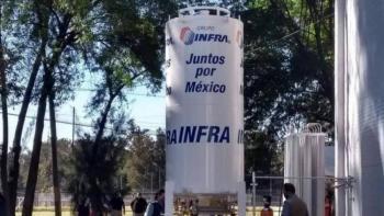 Instalan en Ciudad Deportiva centro de recarga de oxígeno