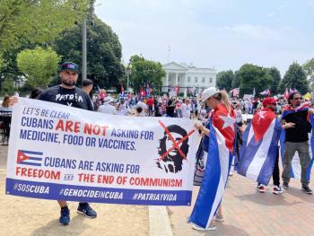 Cubanos piden fin del bloqueo económico a la Isla