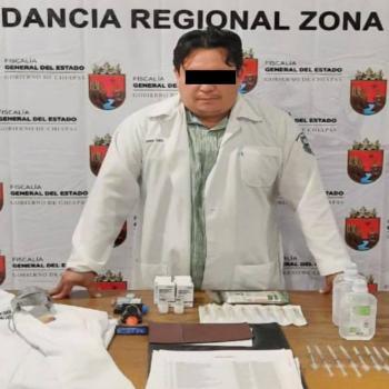 Abren investigación contra supuesto médico que aplicaba presuntas vacunas Covid-19 en Tapachula