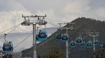 Cablebús, el segundo teleférico más utilizado en Latinoamérica, según GobCDMX