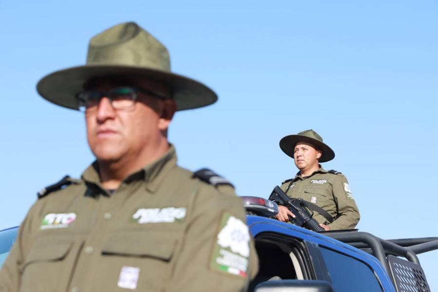 Con el sueldo más alto, apuestan por eficiencia de la Policía Estatal de Guanajuato