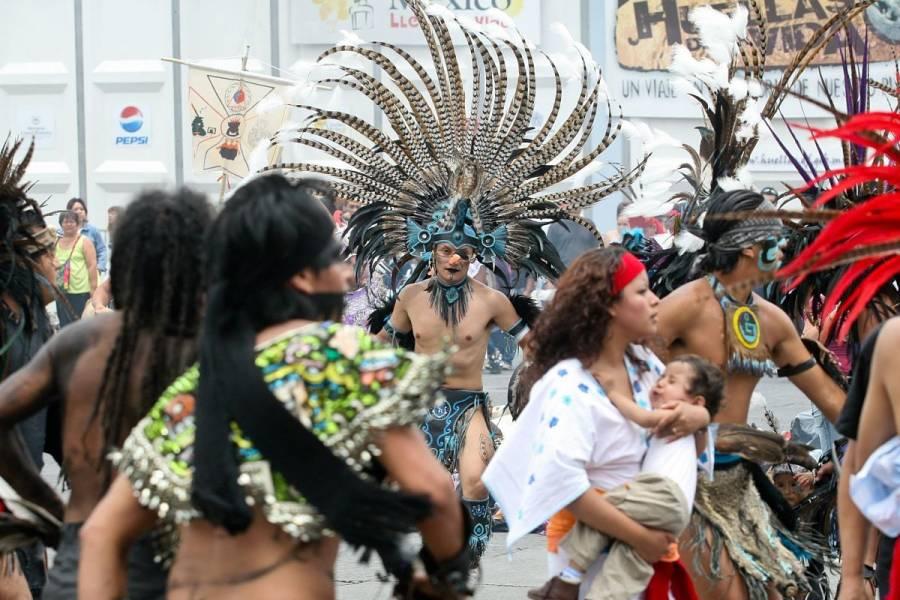 Gobierno de la CDMX conmemora el 696 aniversario de la fundación solar de México-Tenochtitlan