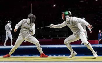 Diego Cervantes es eliminado por el campeón mundial de esgrima en Tokio 2020