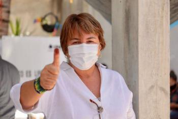 A un paso de tener un resultado electoral a favor en Solidaridad: Laura Beristain