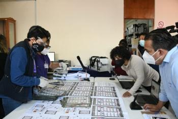 En Xochimilco, sigue el recuento de votos para definir al alcalde