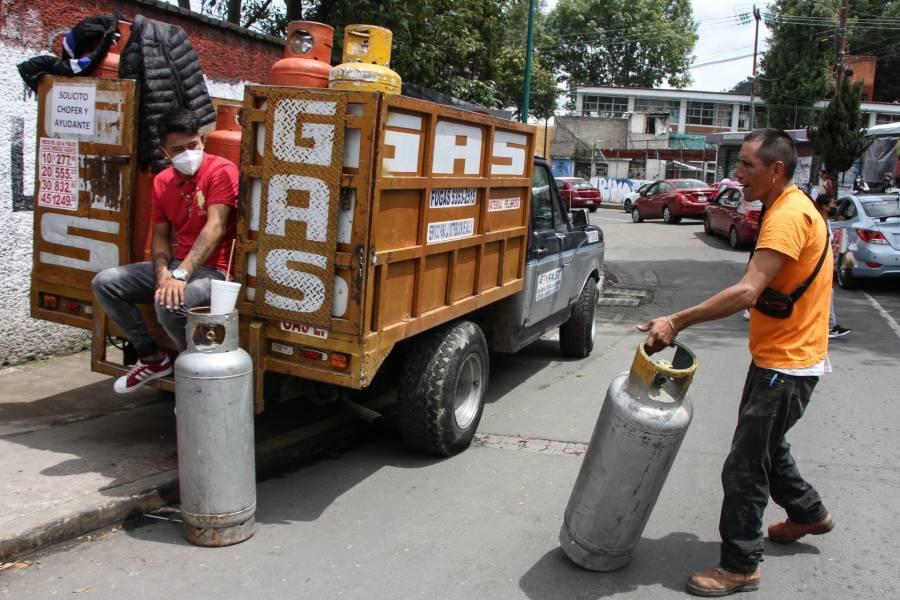 Solicita gobierno a la CRE fijar precio máximo de gas LP