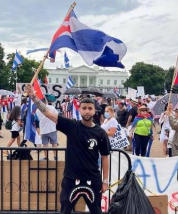 El rapero cubano Ovi no deja de alzar la voz por su pueblo