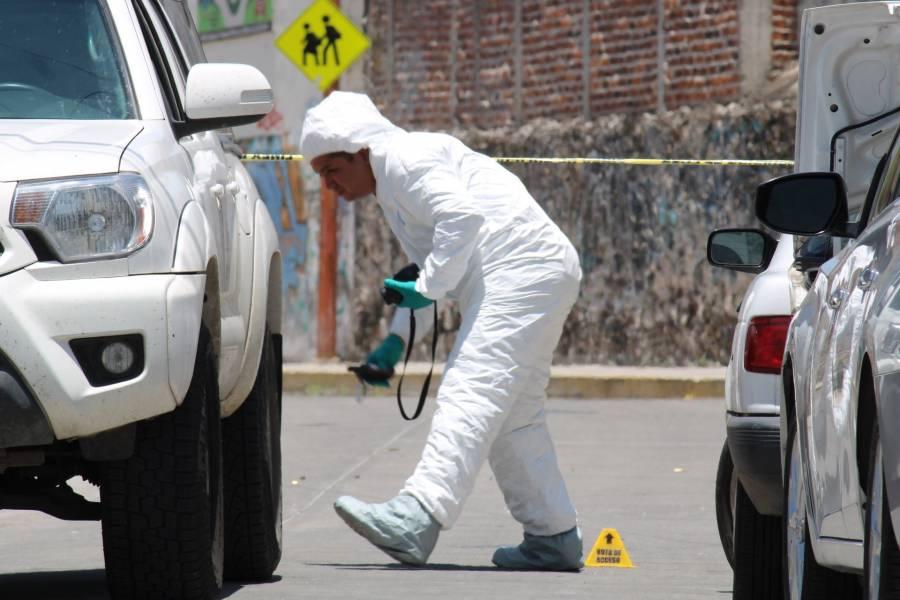 Tasa de homicidios no ha disminuido en 3 años, revela Inegi