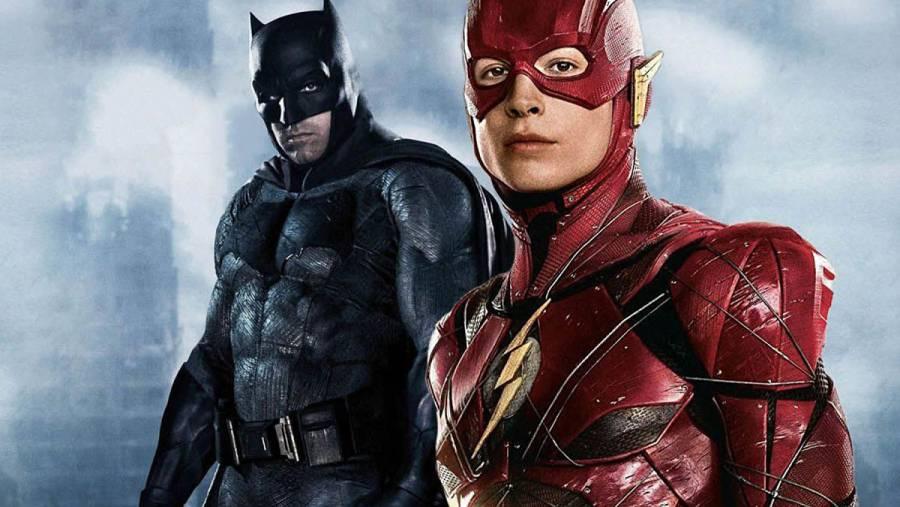 The Flash: video del rodaje muestra a Batman en motocicleta