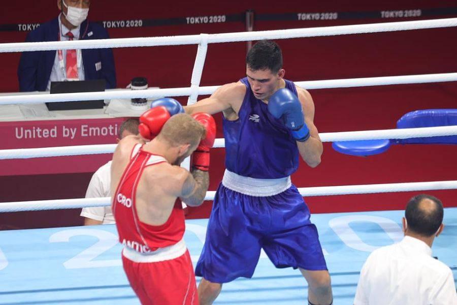 Rogelio Romero avanza a cuartos de final en boxeo de Tokio 2020